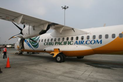 Cebu Airlines plane