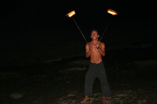 Thailand fireshow