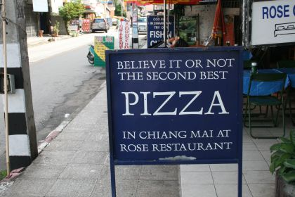 second best pizza in Chiang Mai