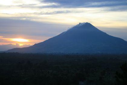 Sinabung sunset